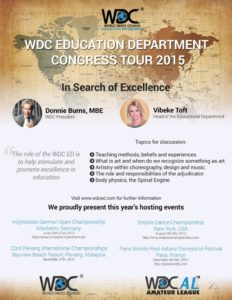 WDCED Congress Tour Poster